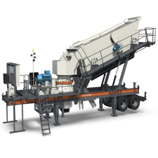Mobile  Crushing & Screening Station