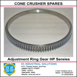 Bowl Section Adjustment Ring Gear HP Sereies