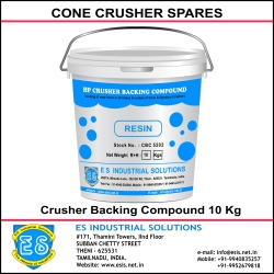 Crusher Backing Compound Manufacturer , Crusher Backing Compound  Exporter, Crusher Backing Compound Supplier