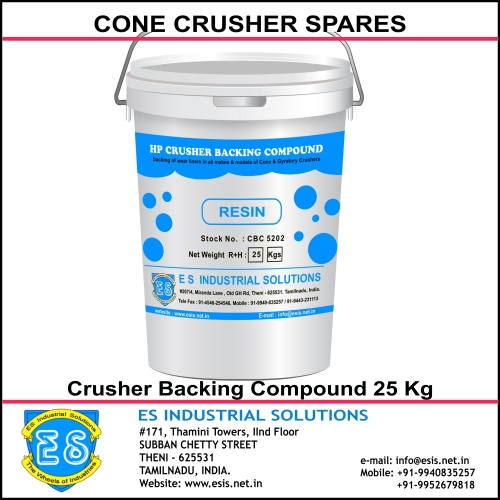 Find the prime leading Crusher Backing Compound manufacturers & OEM manufacturers India. Get Contact details & address of companies manufacturing and supplying Crusher Backing Compound across India