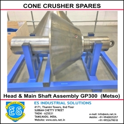 Head with Main Shaft Assembly GP300 Metso