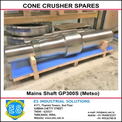 Main Shaft GP300S Metso