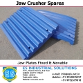 Jaw Plate Movable &  Fixed